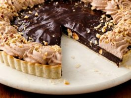 Chocolate Hazelnut Pie Recipe