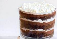 Chocolate Pudding Trifle.