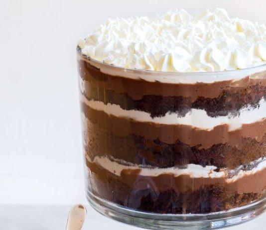 Chocolate Pudding Trifle.