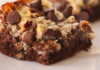 German chocolate cookie bar recipe