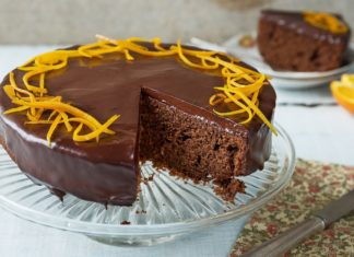 Vegan Glute-Free Chococlate Orange Cake