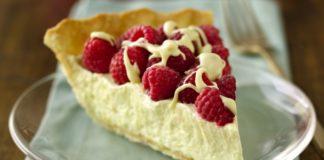 White Chocolate Raspberry Pie Recipe