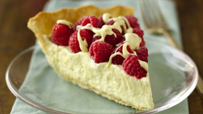 White Chocolate Raspberry Pie Recipe