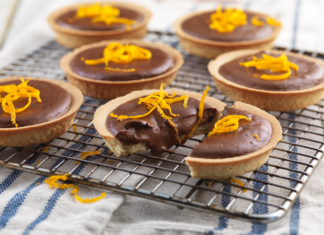 chocolate orange mini pies