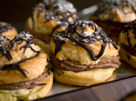 Double Chocolate Cream Puffs