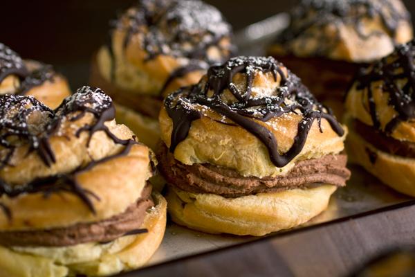 Double Chocolate Cream Puffs