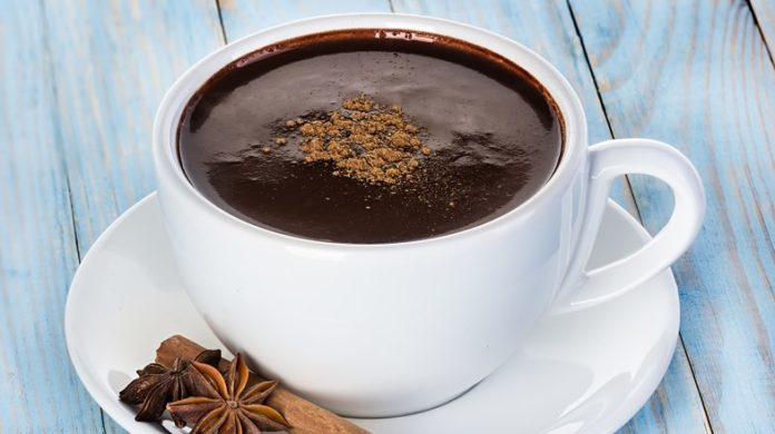 Champurrado mexican hot chocolate