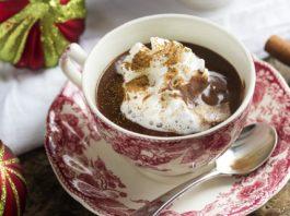 Cinnamon Infused Thick Italian Hot Chocolate