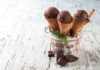 Chocolate Icecream cones recipe