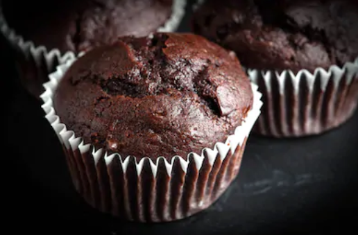 Easy moist chocolate muffins recipe
