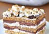 No bake S'mores Cake Recipe