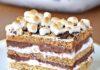 No bake S'mores Cake Recipe