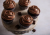 Triple chocolate cupcake recipe