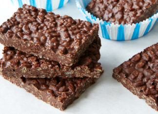 Chocolate Crunch Bars Recipe