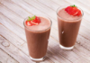 Chocolate Strawberry shake