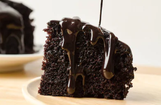 Moist Dark Chocolate Cake Recipe