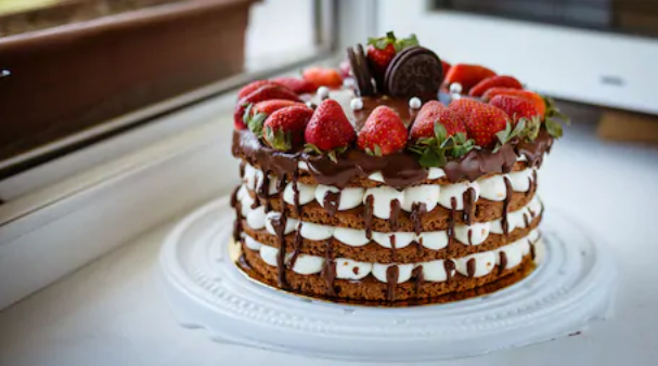 Stawberry Chocolate Cake Recipe