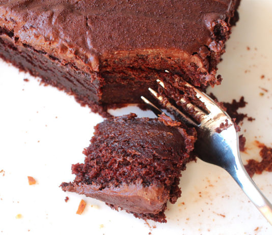 Tofu Chocolate Cake Recipe