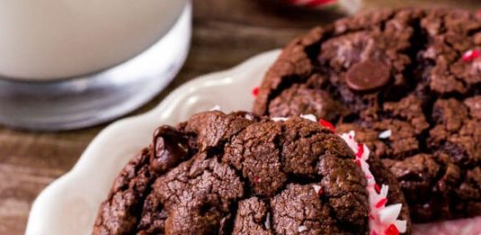 Chocolate Peppermint SandwichCookies Recipe