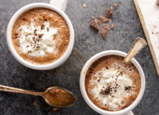 Almond Milk Hot-Chocolate Recipe