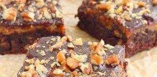 Chocolate-Caramel-Fudge Brownies Recipe