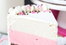 Neapolitan Ice Cream Cake Recipe
