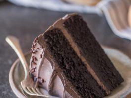 Dark Night Chocolate Cake