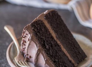 Dark Night Chocolate Cake