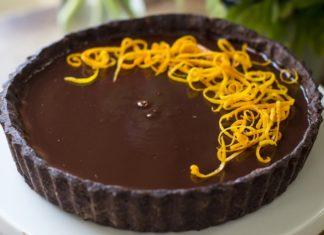 Double chocolate orange tarte recipe