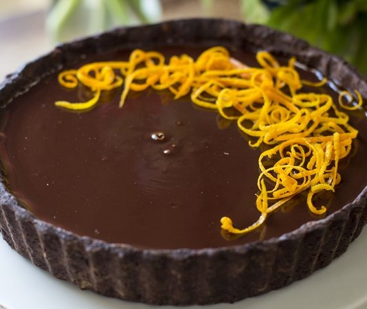 Double chocolate orange tarte recipe