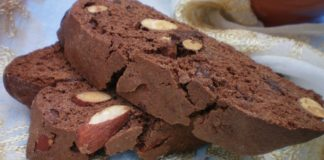 Italian Almond Chocolate Biscotti Recipe