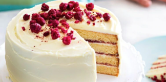 Layered Rasberry and White Chocolate Cake Recipe
