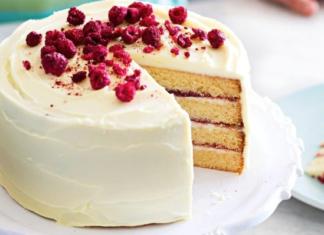 Layered Rasberry and White Chocolate Cake Recipe