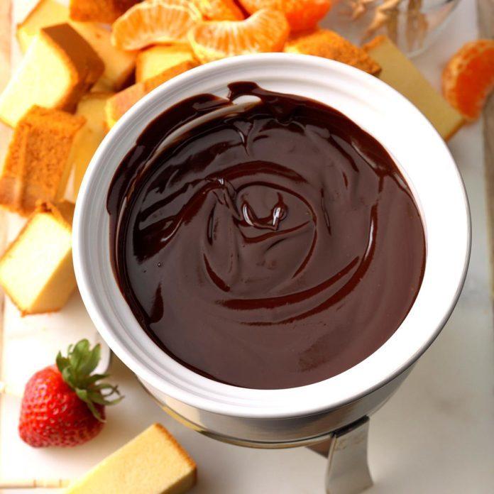 Chocolate Orange Fondue recipe
