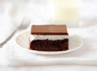 chocolate marshmellow Cake Recipe