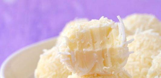 White Chocolate Raffaello Truffles Recipe