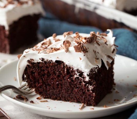 Marshmallow Chocolate Cake recipe