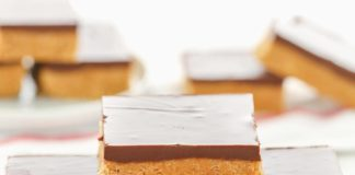 No Bake PeanutButter Bars